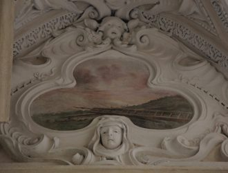 Nicoli spa restauro dettagli e affreschi Basilica Santa Croce Lecce Aver Cura