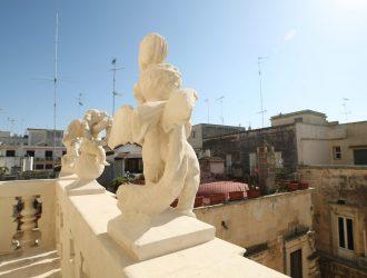 Nicoli spa restauro dettagli Basilica Santa Croce Lecce Aver Cura