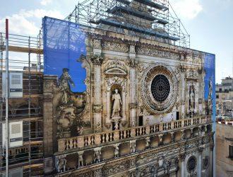 Restauro Basilica Santa Croce a Lecce