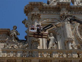 Nicoli spa restauro Basilica Santa Croce Lecce Aver Cura